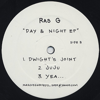 Black Monk / Ras G / Day & Night EP back