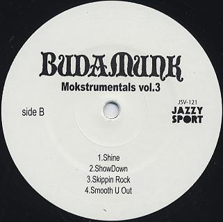 Budamunk / Mokstrumentals Vol.3 back