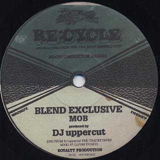 DJ Uppercut / Mob c/w D.Sanchez / Fab back