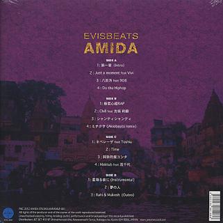 EVISBEATS / AMIDA (2LP) back