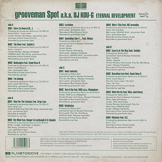 Grooveman Spot / Eternal Development back
