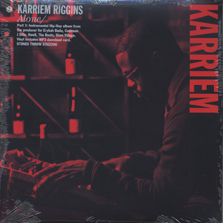 Karriem Riggins / Alone front
