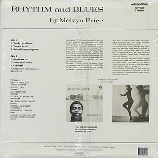 Melvyn Price / Rhythm and Blues back