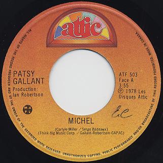 Patsy Gallant O Michel Itll All Come Around
