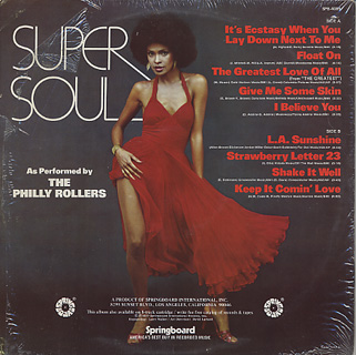 Philly Rollers / Super Soul back
