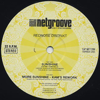 Rednose Distrikt / Sunshine back
