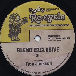 Ron Jackson / XL c/w DJ Uppercut / LL