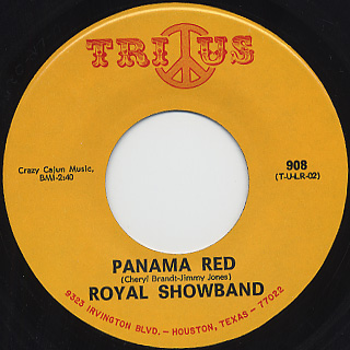 Royal Showband / Panama Red