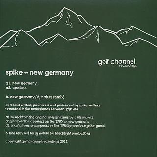 Spike / New Germany (DJ Nature Remix) back