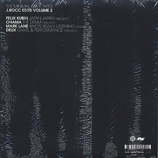 J Rocc / Minimal Wave Edits Vol. TWO back
