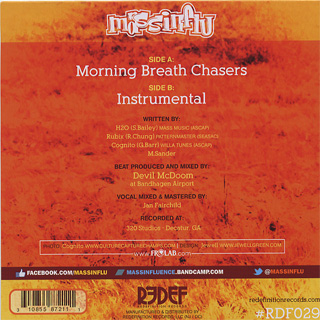 MASSINFLU (Mass Influence) / Morning Breath Chasers back