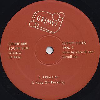 V.A / Grimy Edits Vol.5 back