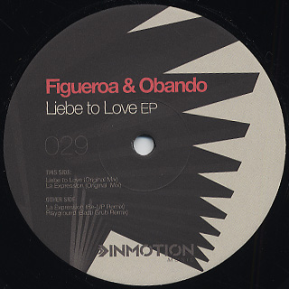 Figueroa & Obando / Liebe To Love front