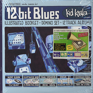 Kid Koala / 12 bit Blues front