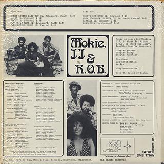 Mokie, J.J. & R.O.B. / Speed Of Light back