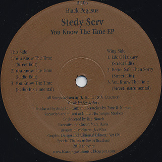 Steady Serv / You Know The Time EP back