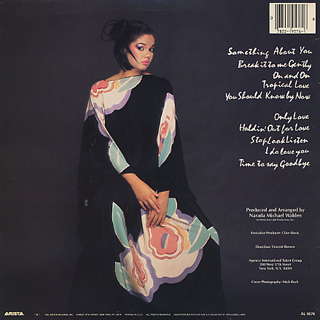 Angela Bofill / Something About You back