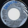 Holland-Dozier / Why Can't We Be Lovers