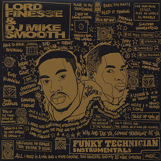 Lord Finesse & DJ Mike Smooth / Funky Technician Instrumentals