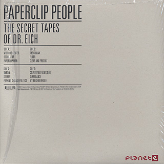 Paperclip People / The Secret Tapes Of Dr. Eich (2012 Remastered Version) back
