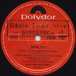 Reality / S.T. label
