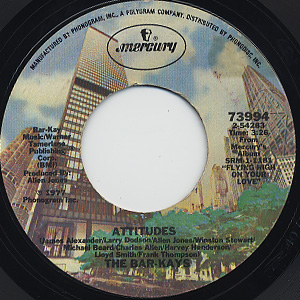 Bar-Kays / Attitudes c/w Can't Keep My Hands Off You