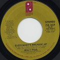 Billy Paul / Everybody's Breakin' Up c/w Sooner Or Later