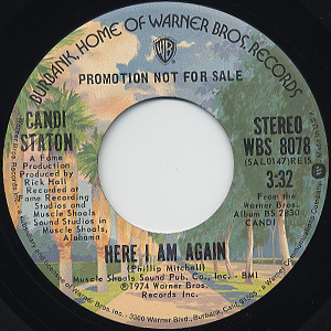 Candi Staton / Here I Am Again front