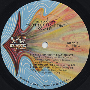 Counts / What's Up Front That label