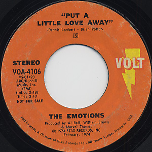 Emotions / Put A Little Love Away front