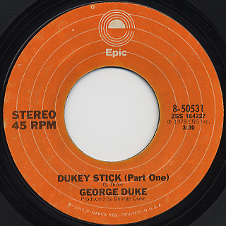 George Duke / Dukey Stick