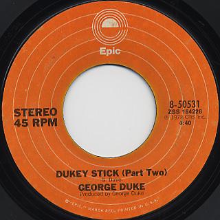 George Duke / Dukey Stick back