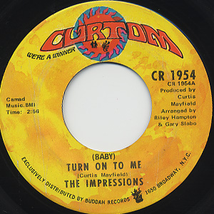 Impressions / (Baby)Turn On To Me