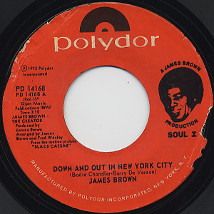 James Brown / Down And Out In New York City c/w Mama's Dead