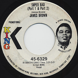 James Brown / Super Bad