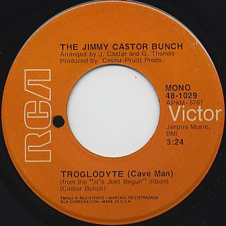 Jimmy Castor Bunch / Troglodyte