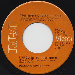 Jimmy Castor Bunch / Troglodyte back