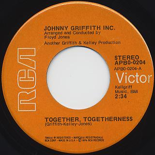 Johnny Griffith Inc. / Together, Togetherness