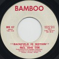 Mel And Tim / Backfield In Motion c/w Do Right Baby