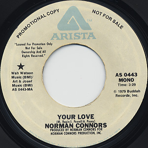 Norman Connors / Your Love back