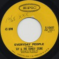 Sly & The Family Stone / Everyday People c/w Sing A Simple Song