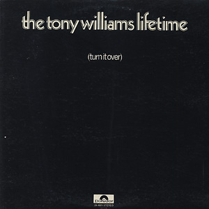 Tony Williams Lifetime / Turn It Over front