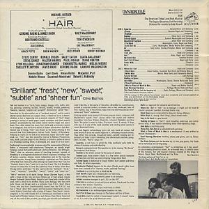 V.A. / Hair - The Original Broadway Cast Recording back