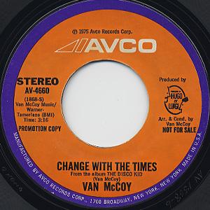 Van Mccoy / Change With The Times back
