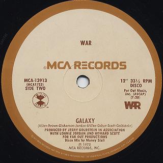 War - Good Good Feelin' - Galaxy