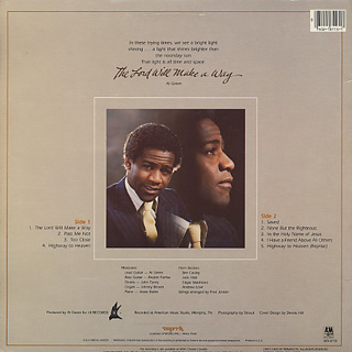 Al Green / The Lord Will Make A Way back