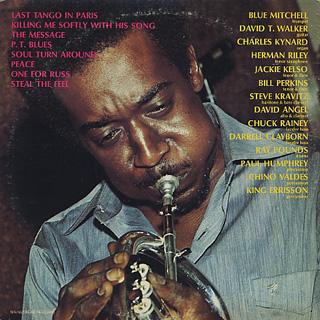 Blue Mitchell / The Last Tango = Blues back