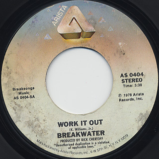 Breakwater / Work It out front