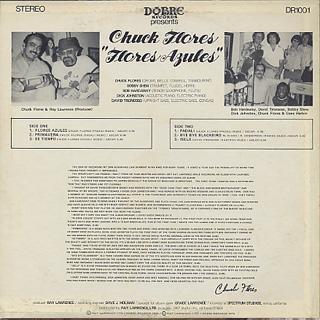 Chuck Flores / Flores Azules back