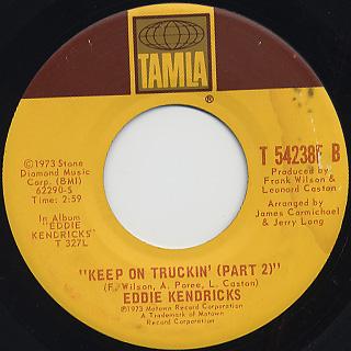 Eddie Kendricks / Keep On Truckin